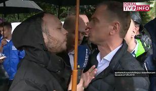 Dziennikarz Radia Szczecin i Sławomir Nitras (PO).