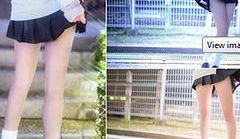 Japonki pokazują nogi