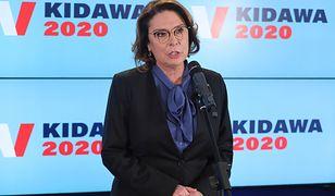 Koronawirus w Polsce. Apel kandydatki w wyborach prezydenckich 2020 Małgorzaty Kidawy-Błońskiej