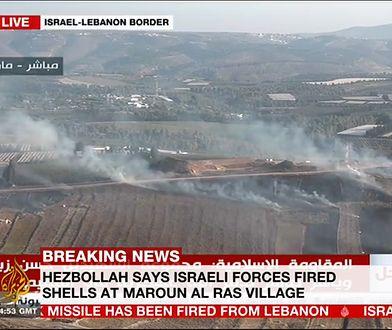 Granica izraelsko-libańska.