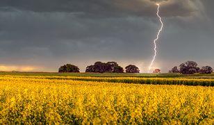 Pogoda w Polsce. Burze i gradobicia. Ostrzeżenia IMGW