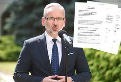 Minister zdrowia ujawnił swój majątek. Ponad 100 tysięcy złotych oszczędności