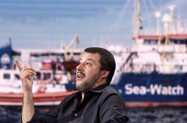 Matteo Salvini o imigrantach: nie nakarmimy całego świata. Wolę zająć się Włochami