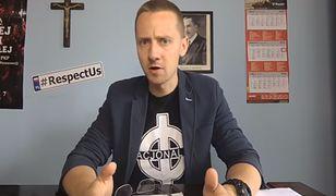 Jacek Międlar prowadzi swój kanał na Youtube
