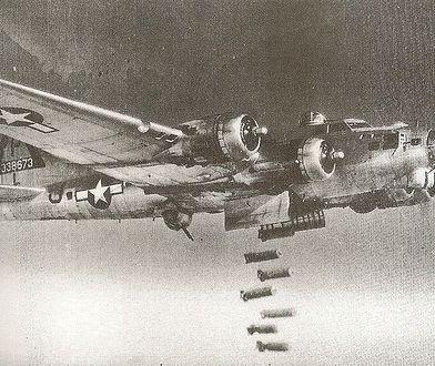 Bombowiec B-17 podczas II wojny światowej
