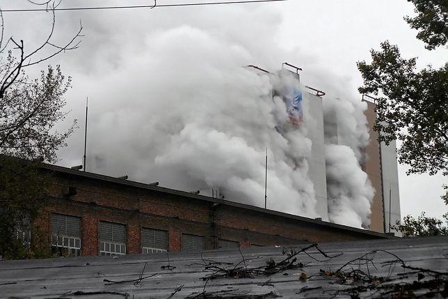 Pożar w EC Żerań. Na miejscu jest 10 jednostek