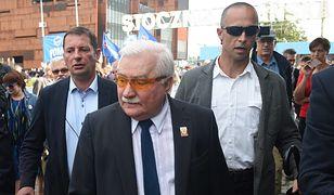 """Legenda """"Solidarności"""" Lech Wałęsa"""