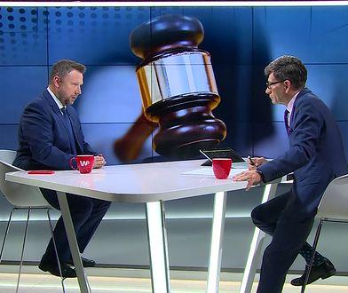 Afera w Ministerstwie Sprawiedliwości. PO kontra PiS. Kłótnia o... Lecha Kaczyńskiego