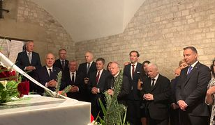 Na Wawelu stawili się członkowie rządu oraz prezydent Andrzej Duda