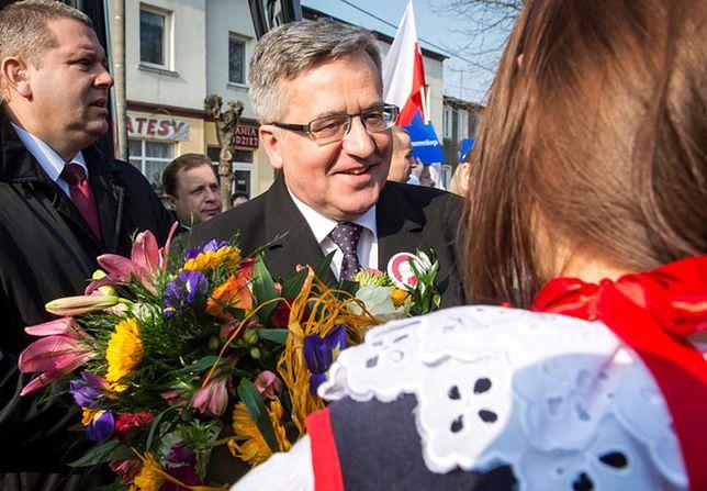 Bronisław Komorowski: nie oddać Polski we władanie smerfa Marudy