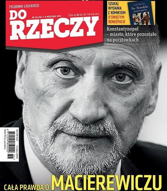 """""""Cała prawda o Macierewiczu"""", czyli przegląd tygodników"""