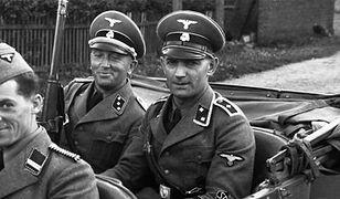 Żołnierze niemieccy podczas II wojny światowej.