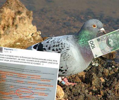 Uważajcie na takie pożyczki. Monity wysyłają gołębiem i każą sobie słono płacić