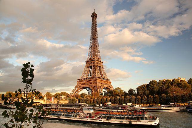 Widok na Paryż
