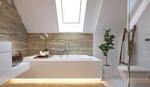 Zamontowane pod wanną oświetlenie LED daje lekką poświatę i sprawia, że łazienka staje się bardziej przytulna