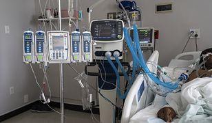 Koronawirus w Polsce. Raport ws. zajętych respiratorów (1 maja)