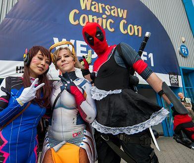 Wydarzenie przyciąga fanów seriali i komiksów