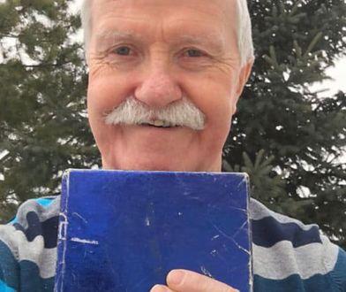 Adrian Pearce nie odpakował prezentu od byłej dziewczyny przez prawie 50 lat