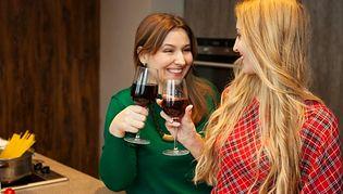 Wino zamiast pasty do zębów!
