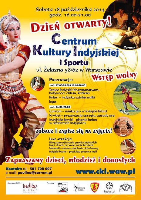 Otwarcie Centrum Kultury Indyjskiej i Sportu