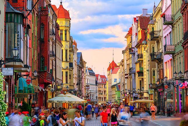 Polskie miasta przyciągają mnóstwo turystów nie tylko z naszego kraju