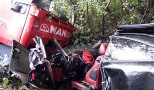 Tragiczny wypadek w pobliżu Nowego Sącza