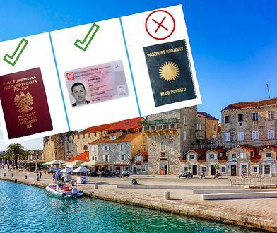 """""""Paszport Polsatu nie wystarczy"""". Ambasada przypomina na jakich zasadach można wjechać do Chorwacji"""