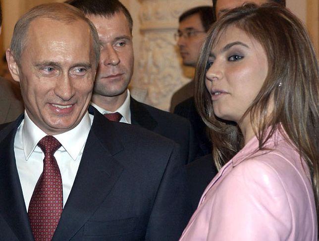 Prezydent Rosji Władimir Putin i rosyjska gimnastyczka Alina Kabajewa