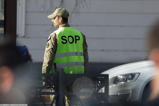 Funkcjonariusz SOP usłyszał zarzuty