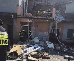 Wielkopolska. Potężny wybuch w domu jednorodzinnym. Są ranni