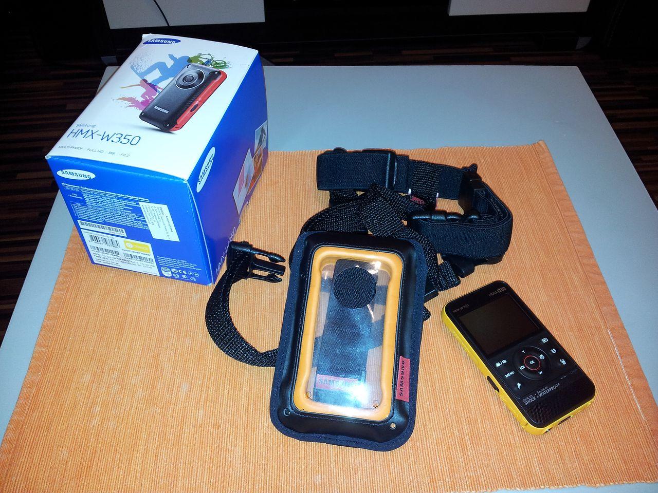 Samsung HMX-W350 [test v.1]. Pierwsze wrażenia - Fot. Autor (Samsung Galaxy SII)