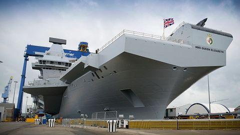 HMS Windows XP: najnowszy brytyjski lotniskowiec z 16-letnim systemem