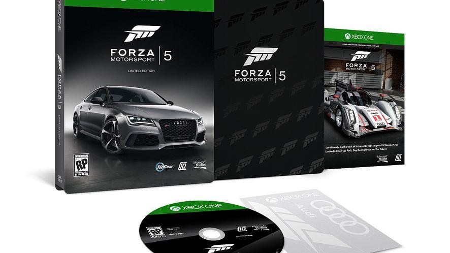 Limitowana edycja gry Forza Motorsport 5
