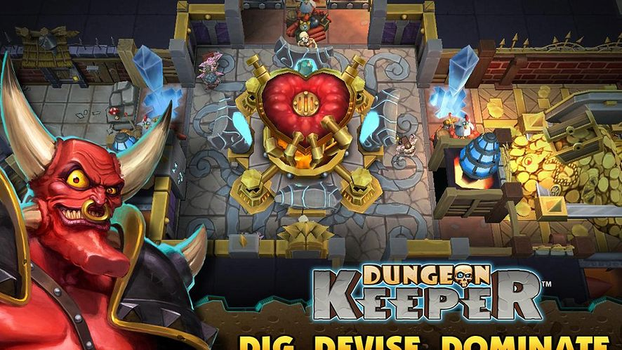 EA oficjalnie już wypuszcza darmowego Dungeon Keepera na urządzenia przenośne