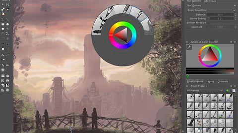 Krita 2.8 w końcu gotowa dla użytkowników Windowsa, wkrótce zawojuje hybrydowe ultrabooki
