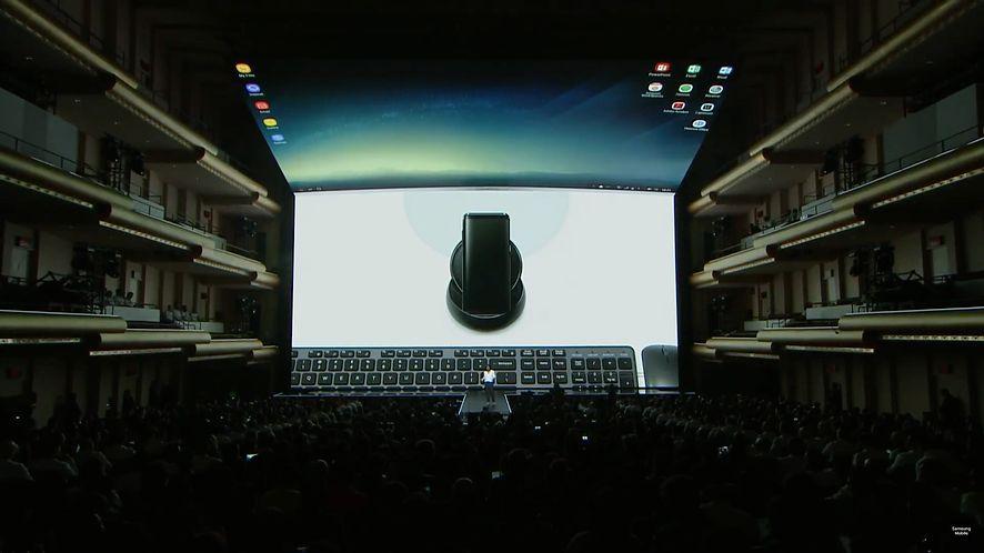 Samsung DeX: Samsung Galaxy S8 z androidowym trybem Continuum