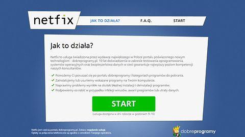 Netfix — bezpłatna pomoc portalu dobreprogramy!