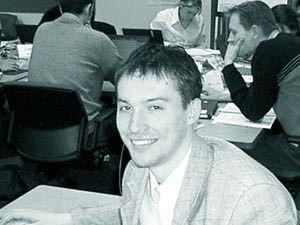 Katkouski podczas studiów.