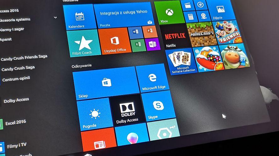 W Windows 10 będzie na starcie mniej aplikacji, fot. Oskar Ziomek