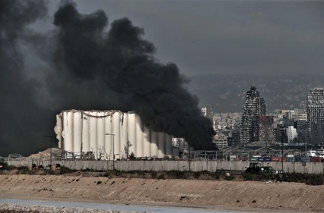 Wybuch w Bejrucie. Azotan amonu składowany bez zabezpieczeń