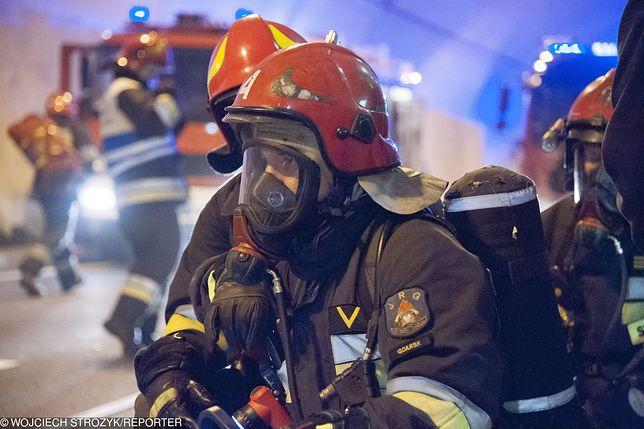 Pożar na Mazowszu. Trzy osoby nie żyją