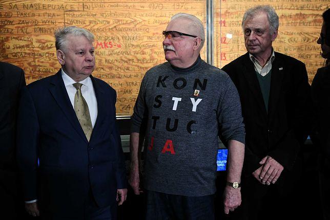 Gdańsk. Lech Wałęsa nie chce, by tablice wyjechały z ECS