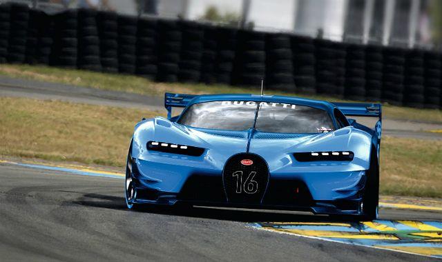 Chiron zastąpi Veyrona w ofercie Bugatti