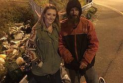 Bezdomny oddał jej ostatnie pieniądze. 27-latka postanowiła odmienić jego życie