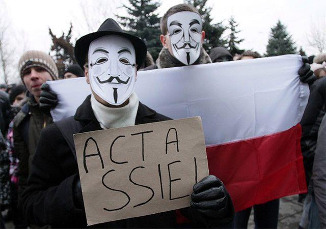 ACTA - przegrana wojna z internautami