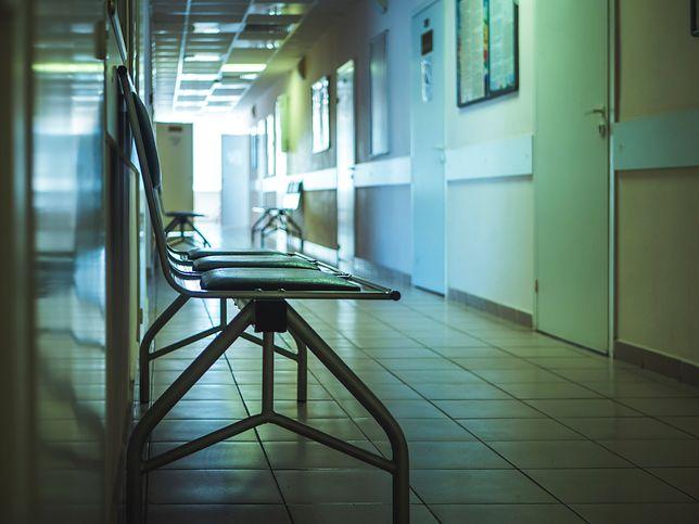 Oddział wewnętrzny szpitala został zamknięty.
