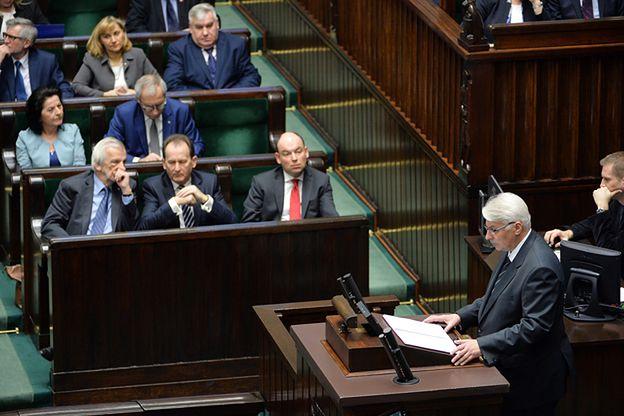 """Politycy komentują expose szefa MSZ. """"Najbardziej eurosceptyczne, jakie pamiętam"""""""