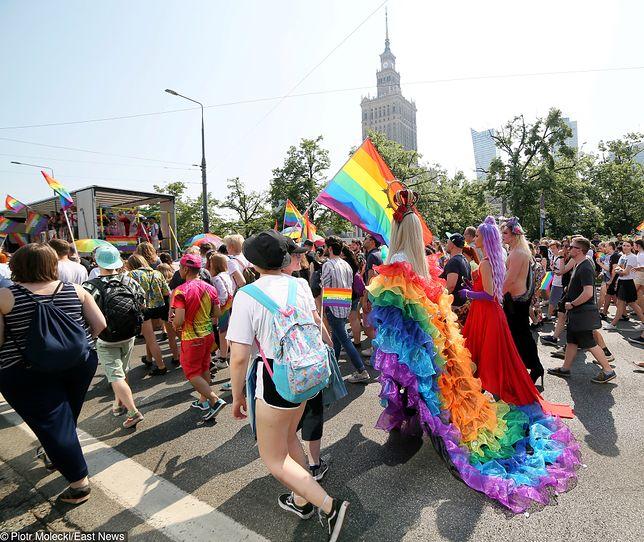LGBT. Marsz Równości w Warszawie.
