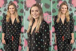 LOOK OF THE DAY: Elizabeth Olsen w stylizacji Kenzo x H&M