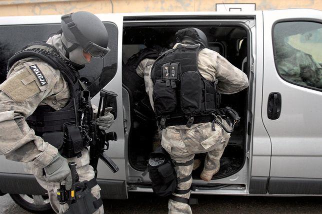 Akcja antyterrorystów w Pruszkowie. Zatrzymani obcokrajowcy